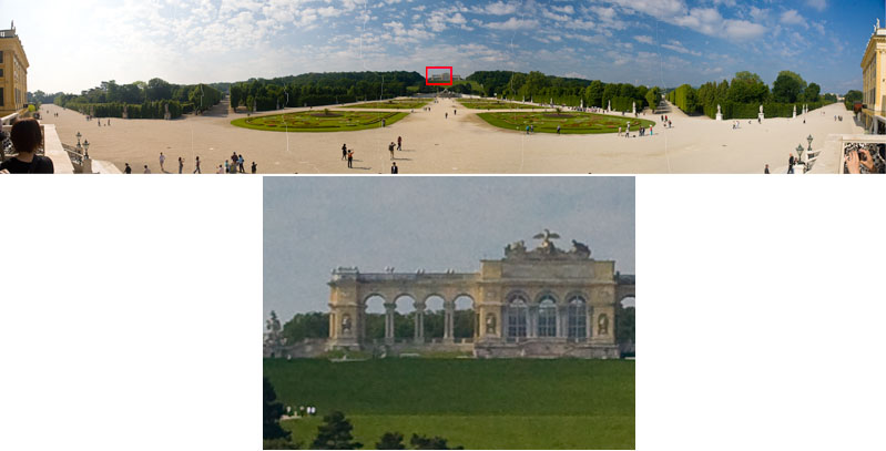 Just the contents of the red rectangle to show the detail in the panorama that is the first image in this gallery.