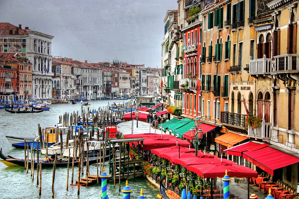 Venice from Rialto Bridge