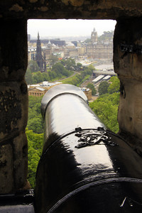 Edinburgh Castle Canon - Scotland