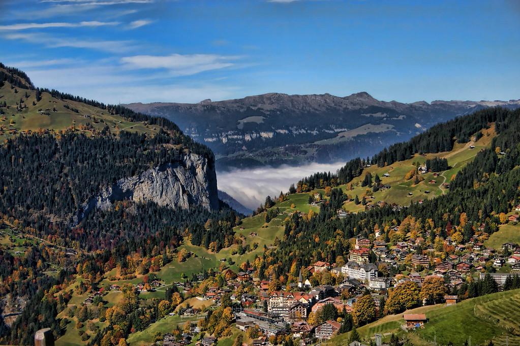 Above Wengen
