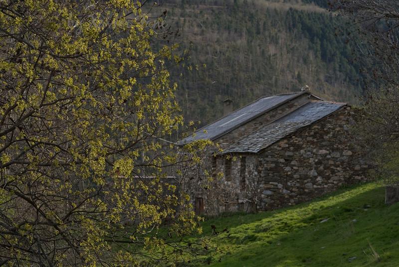 Pyreneean farmhouse.