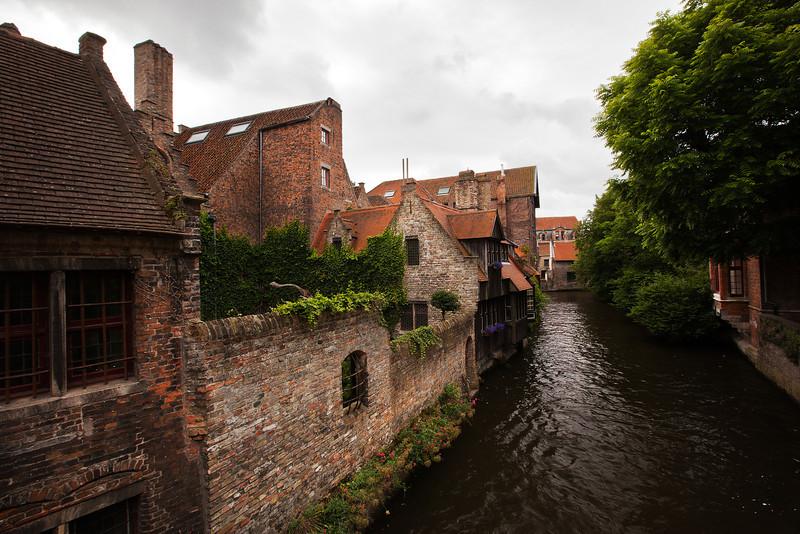 Bruges Canal 1, Belgium.