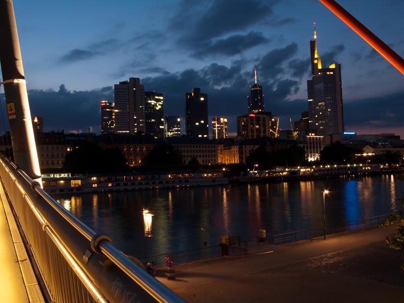 Frankfurt, Germany Night Shot 1.