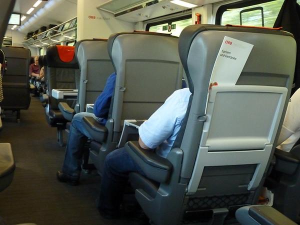 Eurail Train Austria