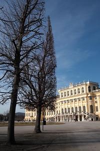 Schönbrunn Palace, Vienna, Austria.