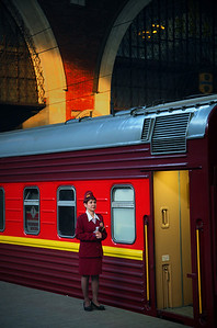 Train Station, Moscow, Russia