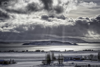 Iceland between snow storms