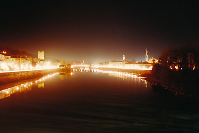 Arno River Reflections 2