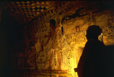 Tomb of Senefer, Valley of the Kings, Egypt