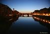 Arno River Reflections