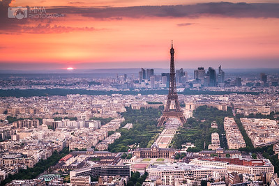 Parisian Sunset