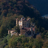 The Yellow Castle. Hohenschwangau Castle, were Bavarian King Ludwig II spent most of his childhood.