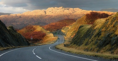 A830 Road to Mallaig, Scotland