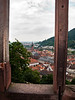 Window View, Heidelberg, Germany.