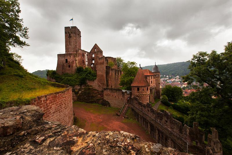 Wertheim Castle Ruins 1, Germany.