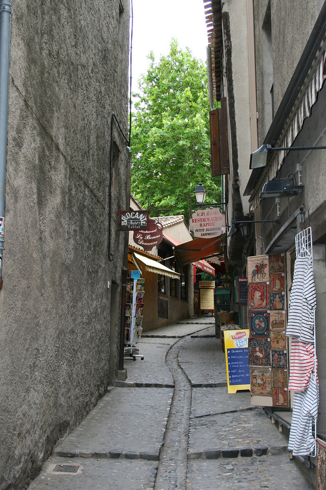 French Market Street - Carcassonne France