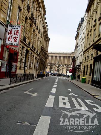 """""""Rues de Paris, Quatre"""" (Paris, France)"""