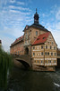 Altes Rathaus on Regnitz River, Bamberg Germany