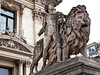 Lion Statue, Brussels, Belgium.