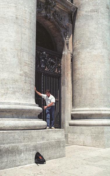 Gigantic columns, St. Peter's Basilica, Rome