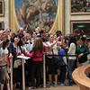 The Mona Lisa fan gallery.