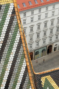 View from St. Stephen's Cathedral. Vienna, Austria.