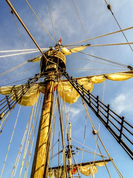 Mast of the Santa Maria Replica Madeira_DSC01161 copy