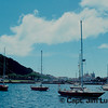 The Harbor - on the island of Faial, Azores - Portugal - Taken with a Nikon EL with a 75-150 Nikkor Zoom Lens - Kodachrome 64 ASA film - scanned with a Plustek OpticFilm 7200 slide