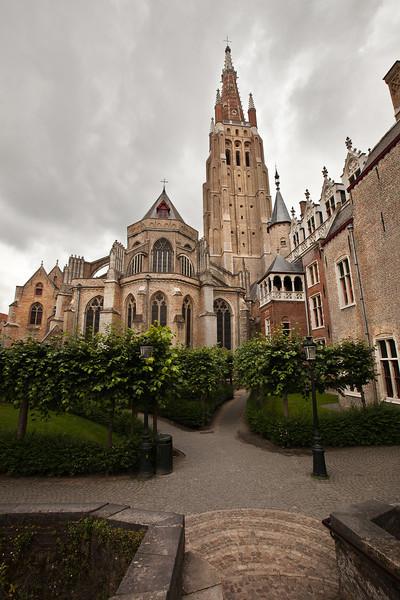 Bruges Church 1, Belgium.