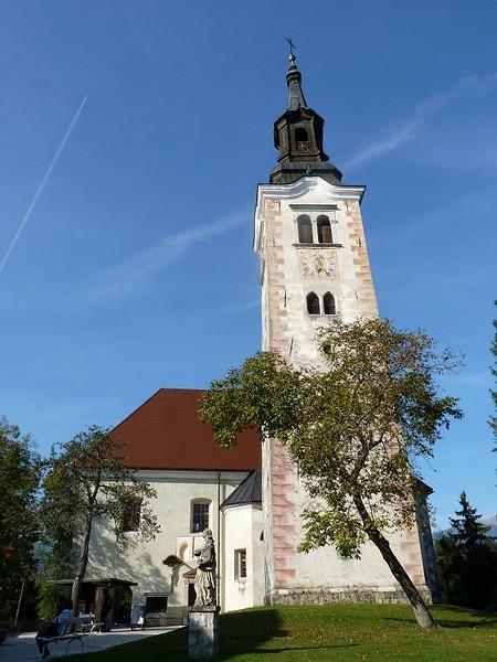 Church on Bled Island, Slovenia