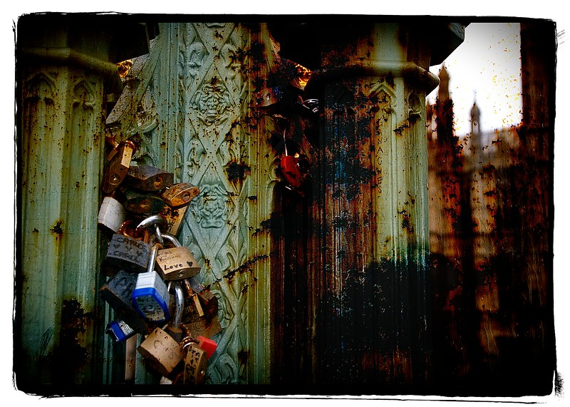 Love Locks - Westminster