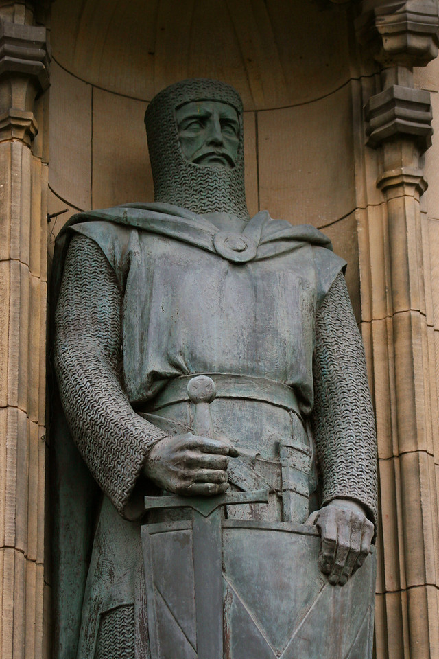 William Wallace at Scotland's Edinburgh Castle