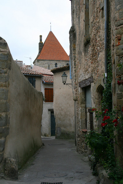 Walkway in Carcassonne France