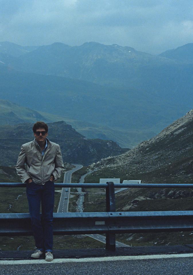 Heading toward Lucerne, Switzerland - August 1985