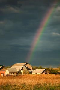 Farmland near Penza, Russia