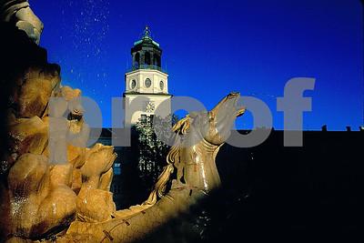 Salzburg horse statue