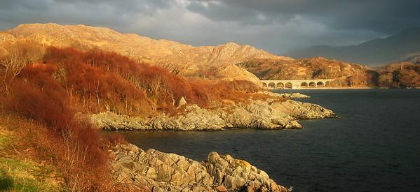 The road to Mallaig, Scotland