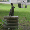 Another Rabbit Statue.