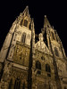 Regensburg Night Steeples, Germany.