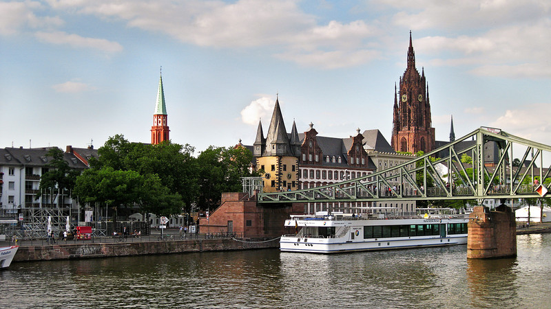 Mainz River Port, Germany.