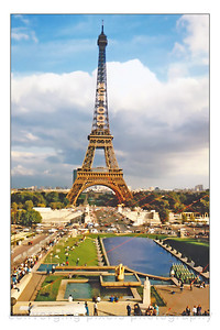 """Eiffel Tower""  Paris, France"