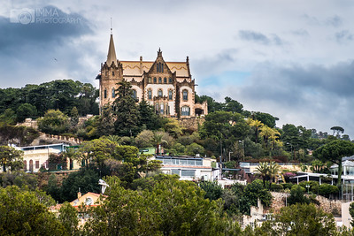 Castle home and funicular in Tibidabo (Casa  Arnús)