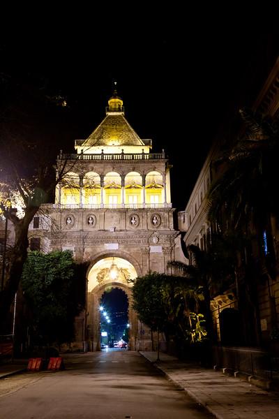Porta Nuova Gate to Palermo, Palermo Sicily