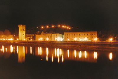 Arno River Reflections 4