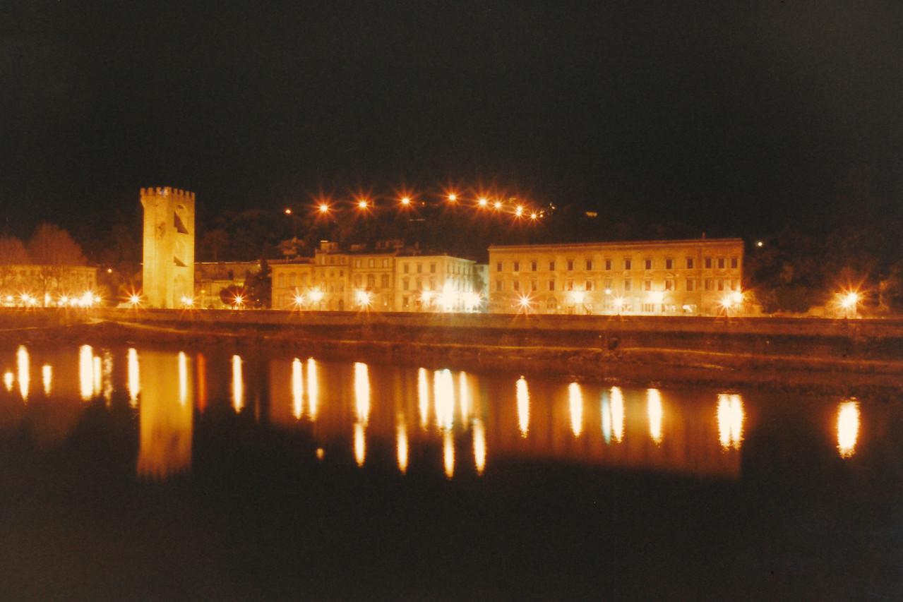 Arno River Reflections 4