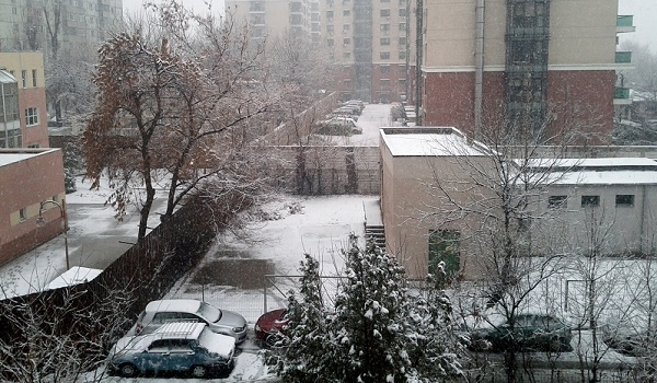 Winter in Bucharest