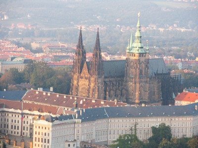 """Prague # 2 "" .  St. Vitus Cathedral at Prague Castle"