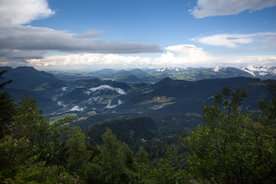 Alps View from Eagles Nest, Berchtesgaden Germany