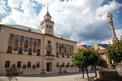 Town Hall, Bad Reichenhall Germany