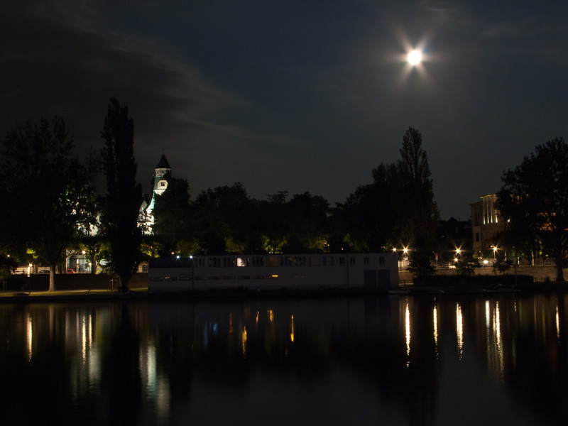 Frankfurt, Germany Night Shot 3.